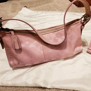 Coach Mini Shoulder Bag & Wallet